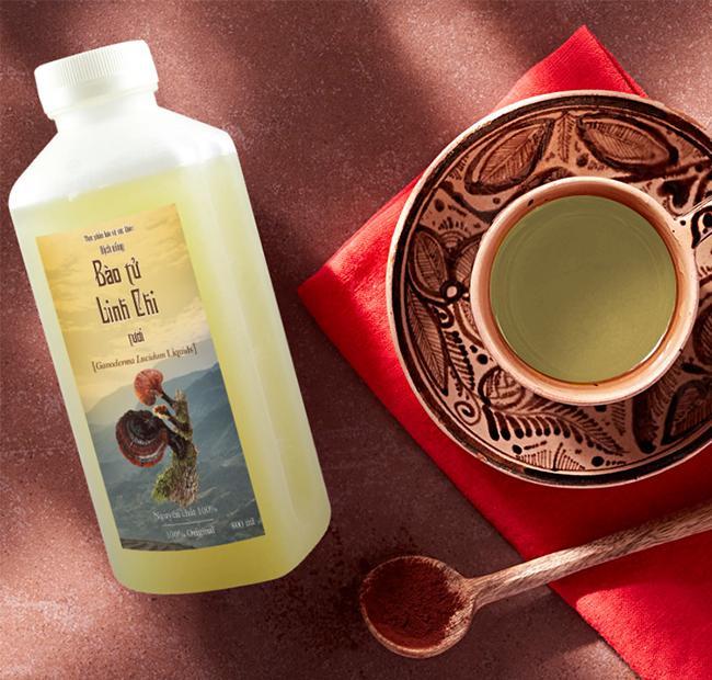 Dịch uống Bào tử Linh Chi tươi